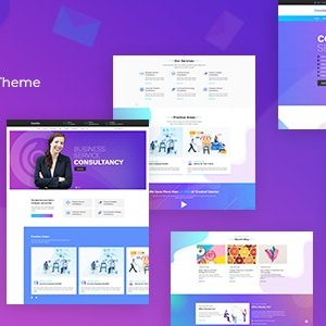 Concho - Consulting Services WordPress Theme